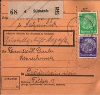 ! 1934 Paketkarte Deutsches Reich, Salzmünde Nach Gräfenhainichen - Lettres & Documents