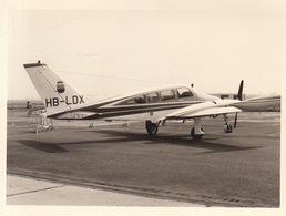 Photo Originale Avion Aviation Cessna 310-P à Melsbroek 1969 - Aviation