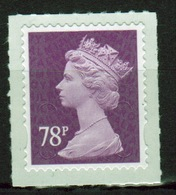 Great Britain 2013 Decimal Machin 78p With Date Code Self Adhesive Définitive Stamp. - 1952-.... (Elizabeth II)