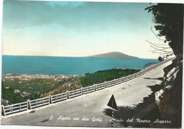 Y5055 Sant'Agata Sui Due Golfi (Napoli) - Sorrento - Strada Del Nastro Azzurro - Panorama / Viaggiata 1960 - Other Cities