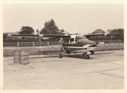 Photo Originale Avion Aviation Cessna 337 D Super Skymaster Melsbroek 1969 - Aviation