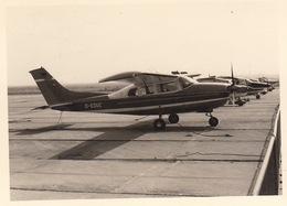 Photo Originale Avion Aviation Cessna 210 Melsbroek 1969 - Aviation