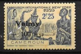 France (ex-colonies & Protectorats) > Cameroun (1915-1959) >1940 - Valmy N° 244 - Neuf* - Cameroun (1915-1959)