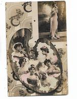 Reutlinger  -  Image  De  6  Femmes  Sur   Palette  D, Artiste - Femmes