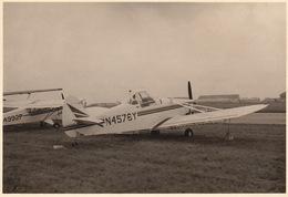 Photo Originale Format CP Avion Aviation Piper PA-25 Pawnee Gosselies 1967 - Aviation