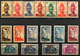 France (ex-colonies & Protectorats) > Cameroun (1915-1959) > 1940 - Timbres De 1939 Avec Surcharge - Oblitérés - Cameroun (1915-1959)