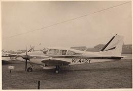 Photo Originale Format CP Avion Aviation Piper PA-24 Comanche B Gosselies 1967 - Aviation
