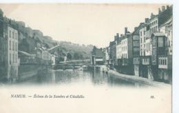 Namen - Namur - Ecluse De La Sambre Et Citadelle - Th. Van Den Heuvel, éditeur - No 18 - Namur
