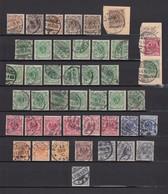 Deutsches Reich - 1889/1900 - Krone / Adler - Sammlung - Gest. - 90 Euro - Gebraucht