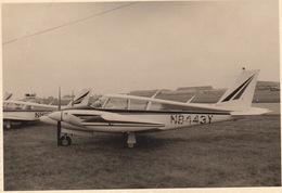 Photo Originale Format CP Avion Aviation Cessna PA-30 Twin Commande Gosselies 1967 - Aviación