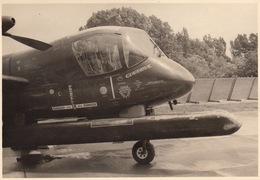 Photo Originale Format CP Avion Aviation Grumman OV-1B Mohawk Beauvechain 1966 - Aviación