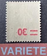 R1189/413 - 1941 - TYPE SEMEUSE CAMEE - N°476 NEUF** - VARIETE ➤➤➤ Surcharge RECTO-VERSO - Variétés: 1941-44 Neufs
