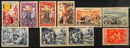 France (ex-colonies & Protectorats) > Cameroun (1915-1959) > 1952/56 - Du N° 296 à 304 - Neufs**/O - Cameroun (1915-1959)