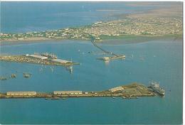 DJIBOUTI - Vue Aérienne Du Port - Djibouti