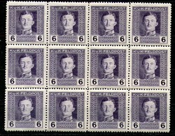Austria,1917,6 H,Mi#57A,Y&T#53,MNH * *,12 Pieces,as Scan - Unused Stamps