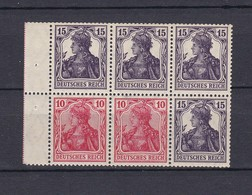 Deutsches Reich - 1919 - H-Blatt - Michel Nr. 21 - Postfrisch - 150 Euro - Germany