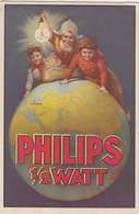Philips 1/2 Watt - 1924          (A-160-160917) - Advertising