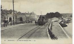 FRANCE - SOISSONS - La Gare De Soissons - Port. - Bernay