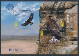 "KAZAKHSTAN/Kasachstan  EUROPA 2019 ""National Birds"" Minisheet** - 2019"