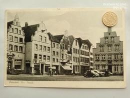Warendorf/Ems, Markt ,VW Käfer, 1950 - Warendorf