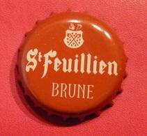 St Feuillien Brune (parfait état - Pas De Trace De Décapsuleur) MEV 13 - Beer