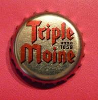 Triple Moine - Bière Belge  (parfait état - Pas De Trace De Décapsuleur) MEV13 - Beer