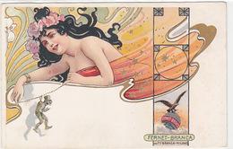 Fernet-Branca - Cartolina Liberty          (A-160-160917) - Advertising