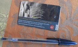 Ticket Du Zoo D'Anvers : Elephant - 2010 - Tickets D'entrée