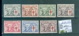 394-400-6  Xx Côte COB 600.00€ - België