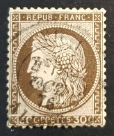 1871-1875, Ceres, 30c, France, Republique Française - 1871-1875 Ceres