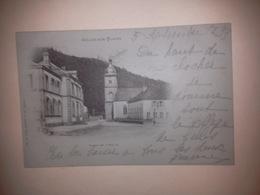 Carte Postale De CELLES SUR PLAINE (88) Vosges. Place De L'église. Oblit:;5 Sept. 1899 - Other Municipalities