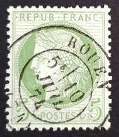 1871-1875, Ceres, 5c, France, Republique Française - 1871-1875 Ceres