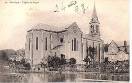 CPA  (Dordogne)  L'Eglise Du Bugue - Autres Communes