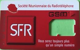 REUNION - Carte SIM SFR - GSM  -  Vous Serez Toujours Plus Qu'un Simple Numéro  -  Coque Sans Puce - Reunion