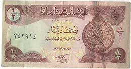 Iraq 1993 Banknote Half Dinar  As Per Scan - Iraq
