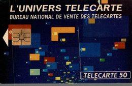 TELECARTE 50 UNITES  L'UNIVERS TELECARTE - France