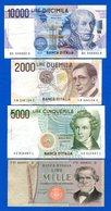Italie  8  Billets - [ 2] 1946-… : Républic
