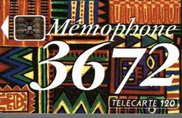TELECARTE 50 UNITES  MEMOPHONE 3672 - France