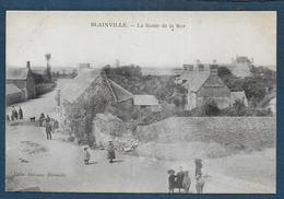 BLAINVILLE - La Route De La Mer - Blainville Sur Mer