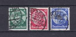 Deutsches Reich - 1933 - Michel Nr. 479/481 - Gest. - 30 Euro - Deutschland