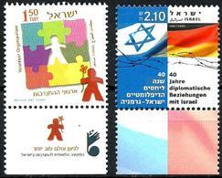 Israel Nº 1768-1858 En Nuevo. - Nuevos (con Tab)
