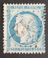 1871 - 1875, Ceres, 25c, Bleu Clair, France, Empire Française - 1871-1875 Cérès