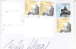 ÖSTERREICH BRIEF 201? Mit 4 Fach Frankierung, Brief Ohne Inhalt - 2011-... Cartas