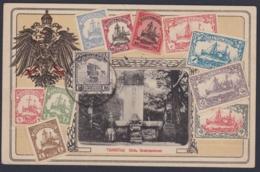 "CHINA 1923, Picture Card ""TSINGTAU"", Philately KIAUTSCHOU, Used - 1912-1949 République"