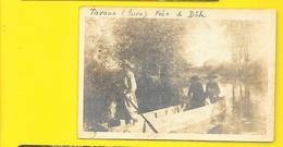 TAVAUX Carte Photo Promenade En Barque () Jura (39) - Tavaux