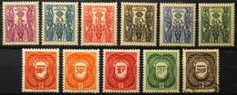 France (ex-colonies & Protectorats) > Cameroun (1915-1959) > 1939/47 - Timbres-Taxe - Collection - Neufs**/*/O - Cameroun (1915-1959)