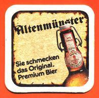 Sous Bock - Coaster Bière Altenmunster Bière D'abbaye D'allemagne - Beer Mats