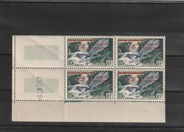TAAF Coin Daté Du N°1 Du 25 08 1954 - ...-1955 Voorfilatelie
