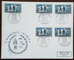 FDC Grand Format 1970 - YT N°1606 - NORMANDIE NIEMEN - FDC