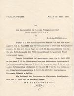 Dokument 1933, Gehaltsnachricht Der Post, Dokument Gefaltet - Historische Dokumente